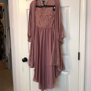 Rue dress combo NWOT- color Mauve
